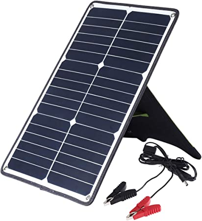 Lumiere Panel Solar portátil de 20W con 5V USB y 18V DC ...