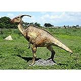 Design Toscano Parasaurolopus Dinosaur Statue, Jurassic Size