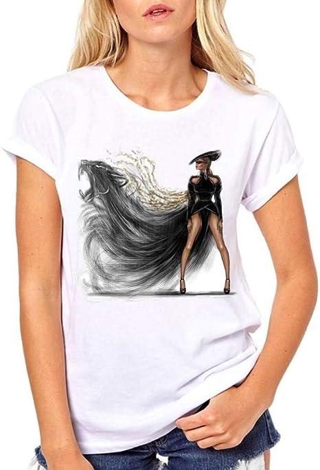 LIULINUIJ Camiseta De Mujer Paris Impresión Negra Camisa De Las Niñas De Moda De Verano Camiseta De Las Mujeres Novedad Casual Tops Hipster Cool Ladies tee: Amazon.es: Deportes y aire libre