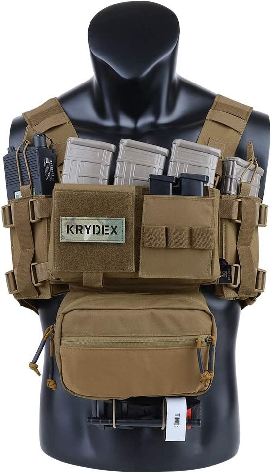 Krydex MK3 Micro Fight Chest Rig avec S.A.C.K Pochette