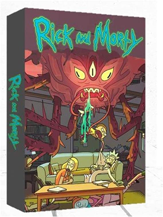 Amazon.es: Crazy pawn Rick & Morty Mix Up, Multicolor (8436564810830)