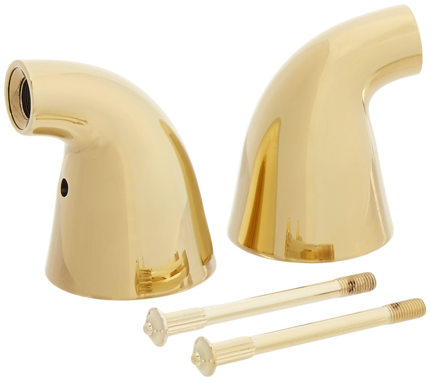 Delta Faucet H64PB Innovations Two Metal Lever Handle Kit, Polished ...