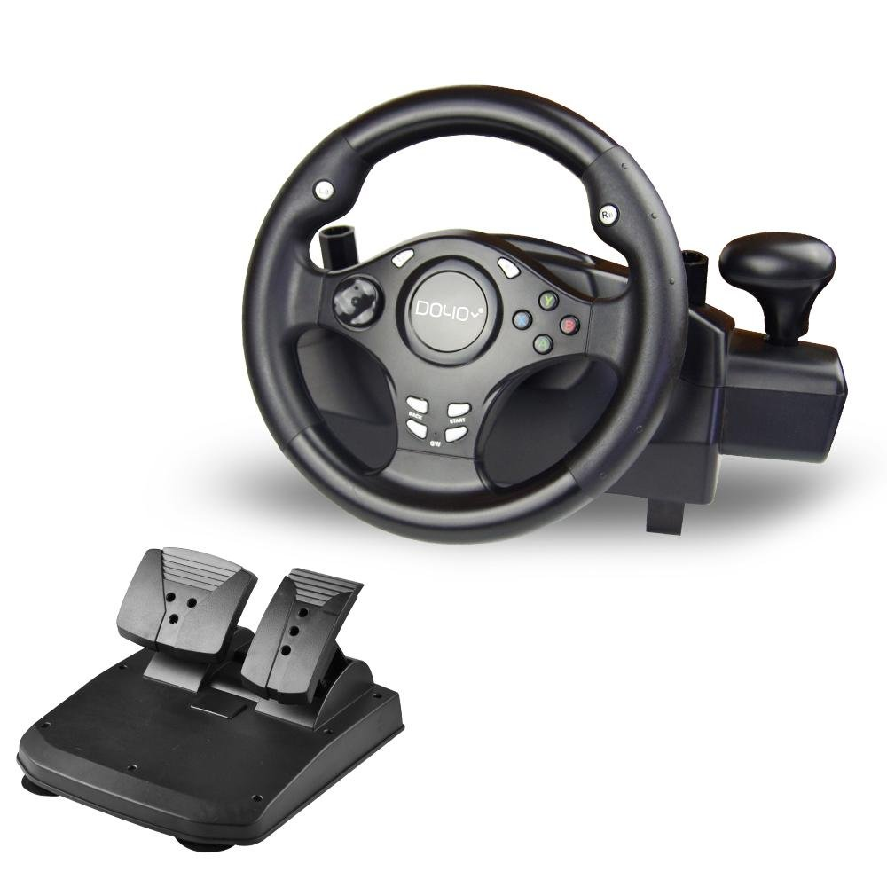 DOYO 270 Degree Rotation Pro Sport Racing Wheel for Multi Platform Compatible PS3/PS4/XBOX ONE/XBOX360/NS SWITCH/Android