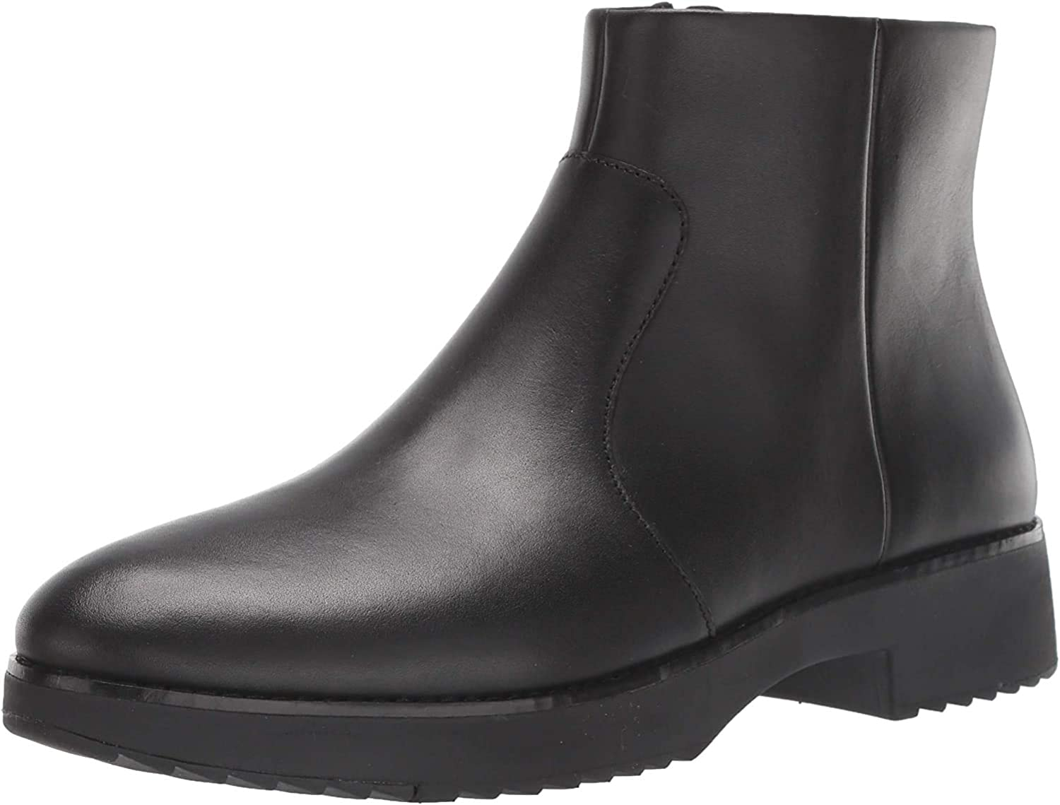 Fitflop Maria Welted Ankle Bootie-Leather, Botines Mujer