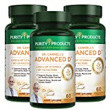 Dr. Cannell's Advanced D - Vitamin D Super Formula - Purity Products (3 PACK)