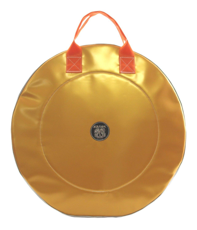 NAHOK(ナホック) 22インチ リュック式 シンバルケース 「Crash2」 ゴールド/シルバー 【ドイツ製完全防水生地特殊湿度&温度調整機能 with 耐衝撃素材】 Fabric from Germany,Made in Japan  ゴールド / シルバー B00R5NF2CQ