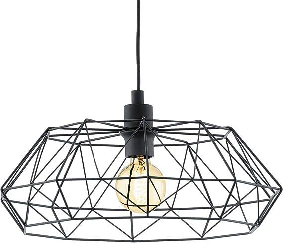 2-flammige Pendelleuchte Draht Silber//Kristall Pendellampe Lampe Hängeleuchte