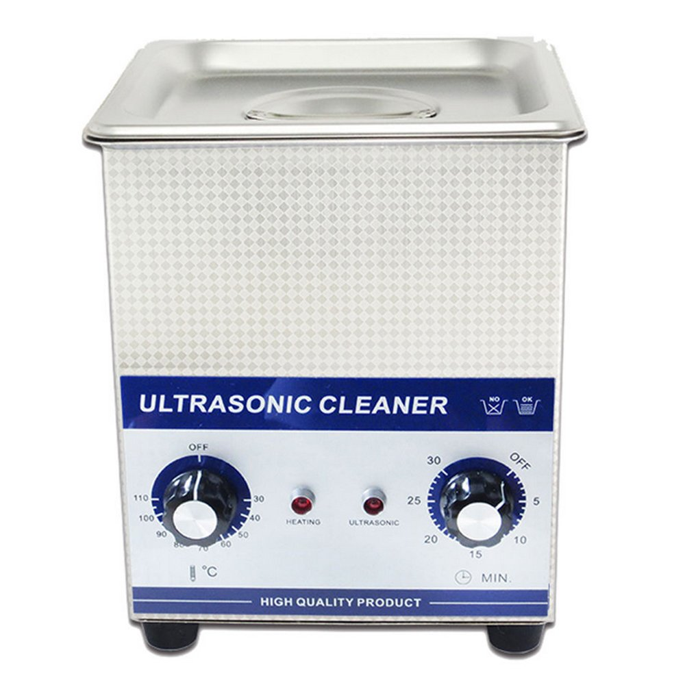 2.0L Professional Ultrasonic Cleaner with mechanical Timer Heated Stainless steel Cleaning tank 110V/220V