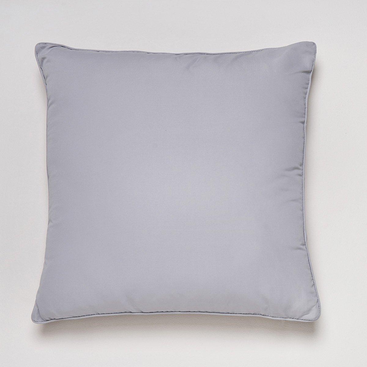 Sancarlos-Cojín SENSACIÓN con Relleno, Microfibra, Color Lila, Tamaño 45x45 cm