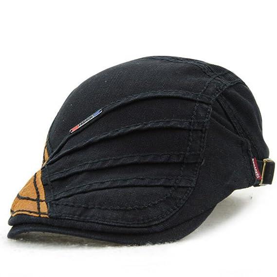 Impression 1 PCS Boinas Ocio Retro Hat Gorra de Golf Sombrero de Sol Deporte  al Aire 3fd2e96299a