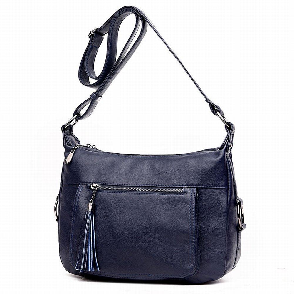 Mumie Paket Mutter Tasche Messenger Bag Flut Paket in Den Älteren Frauen Schräge Diagonal Paket , blau