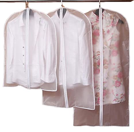 Fundas transparentes para trajes con protección contra el ...