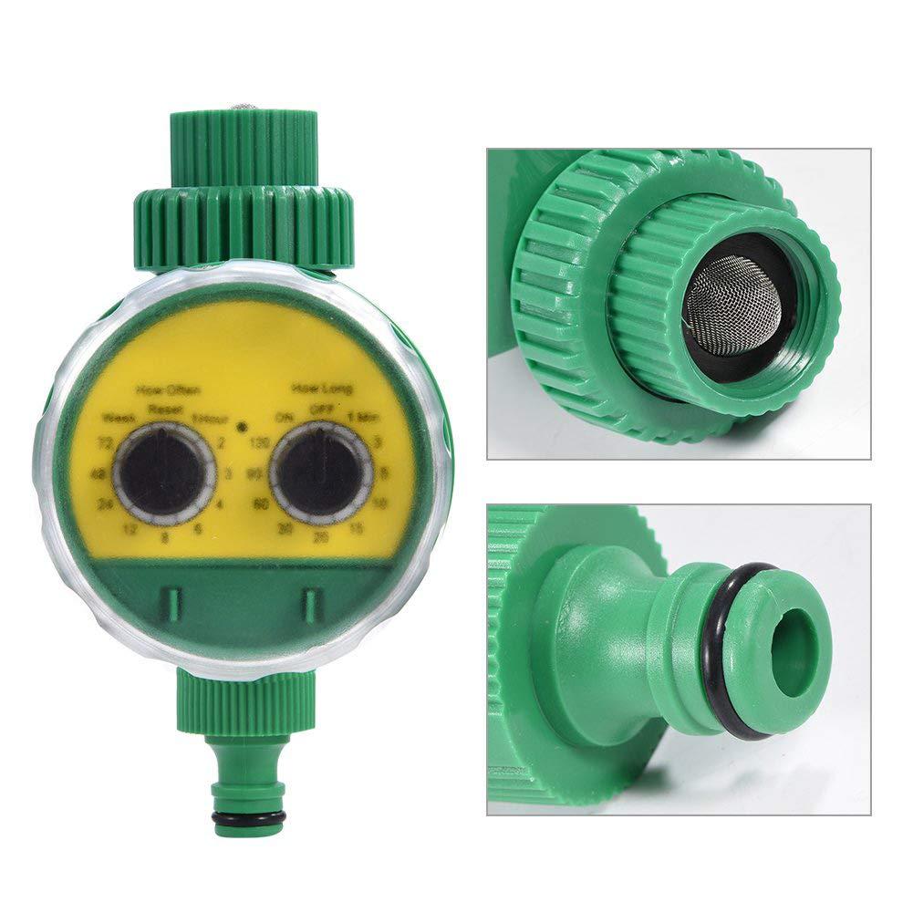 Programmatore automatico a due Rotary Switch Watering controller Giardino Serra sistema intelligente di irrigazione Timer