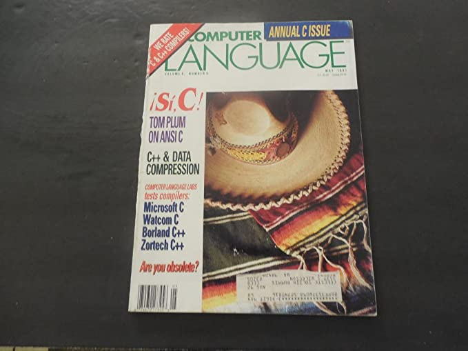Computer Language May 1991 Ansi C