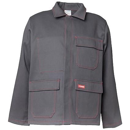 Planam 1742050 soldador/calor chaqueta de trabajo 500 G/m² talla 50 en gris