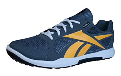 64265af74f2106 Reebok R Crossfit Nano U-Form Mens Fitness Trainers Shoes-Grey-5.5 ...