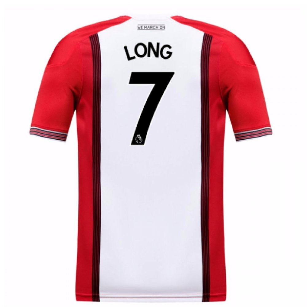 2017-18 Southampton Home Football Soccer T-Shirt Trikot (Shane Long 7)