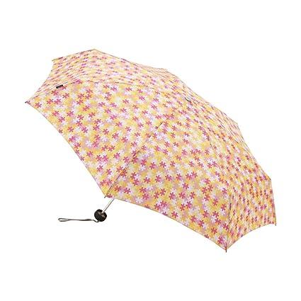 Knirps Piccolo 7 LIMITED [limitado] paraguas plegable de color Puzzle Flor KNAL868-J012