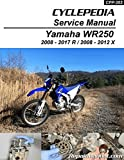 CPP-203-P Yamaha WR250R WR250X Printed Motorcycle Service Manual by Cyclepedia