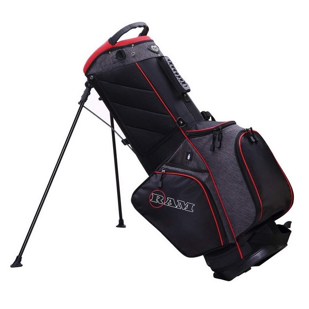 Amazon.com: RAM Golf Premium Tour Stand/Bolsa de transporte ...