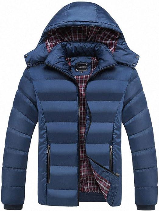 NOQINHOO メンズ 綿服 コート ジャケット フード付き 大きいサイズ 秋冬アウター カジュアル 暖かい 防風防寒 アウター
