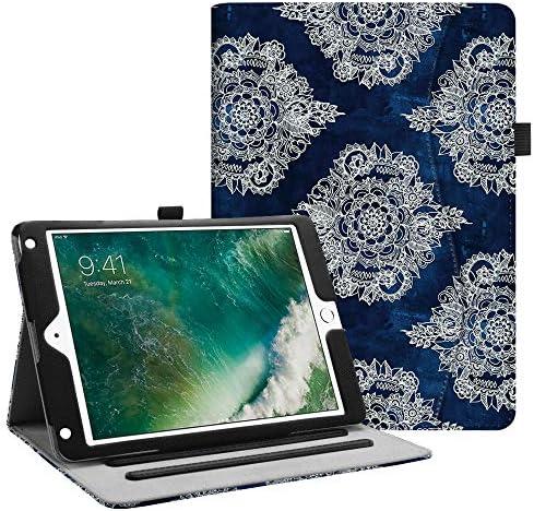 Fintie Case for iPad 9.7 2018 2017 / iPad Air 2 / iPad Air – [Corner Protection] Multi-Angle Viewing Folio Cover w/Pocket, Auto Wake/Sleep for iPad 6th / 5th Gen, iPad Air 1/2, 9.7 Inch EPF0409US