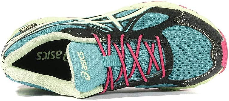 Asics Gel Stormplay GS Gore Tex Chaussures Trail Femme Bleu