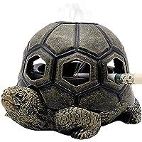 XIYUAN Personalized Resin Ashtray with Lid Ashtray Turtle Ashtray Animal Ashtray Home Office Bar Decoration Smoking Set…