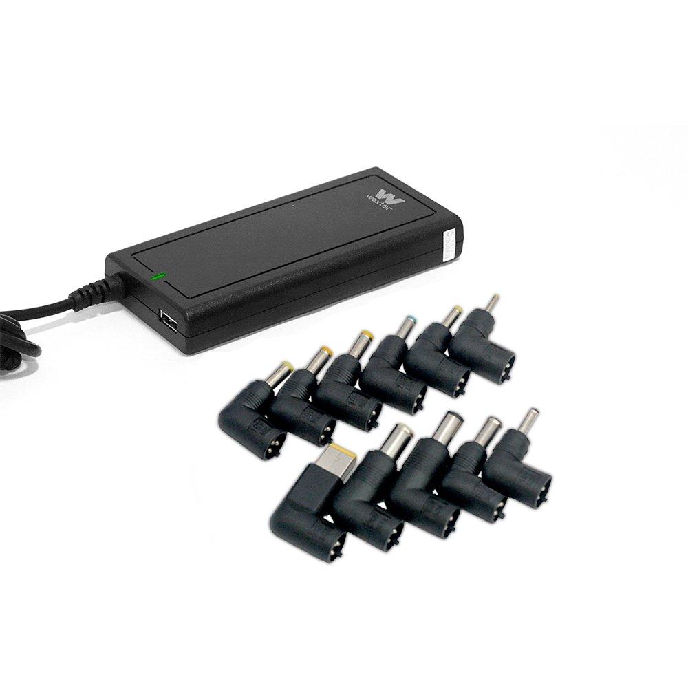 Woxter Adapter 65 C - Cargador para portátil con conexión QC de 65 W
