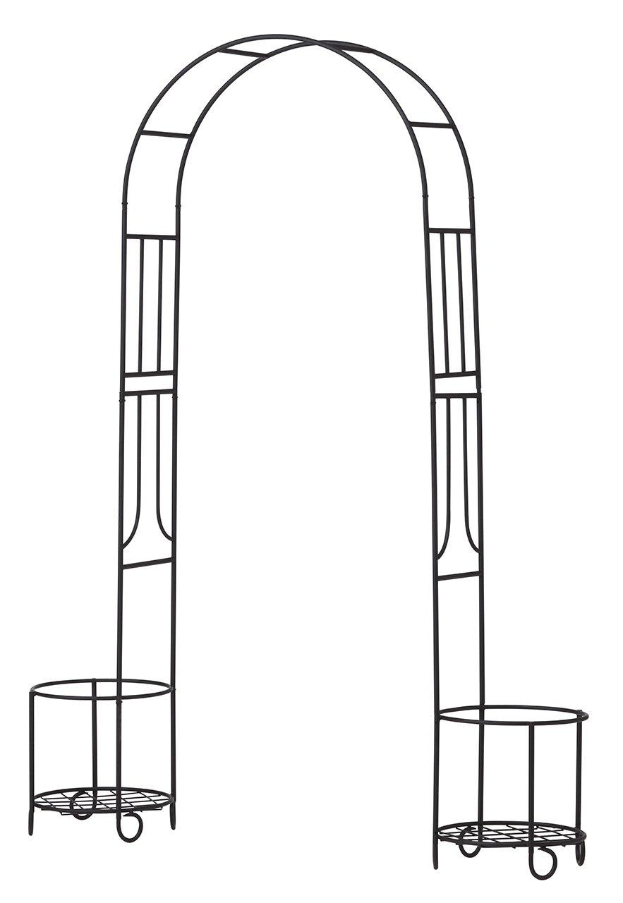 ゲートやハンギングに シェッドファサードヴォレー(閂錠/蝶番付) 高さ115cm ダークブラウン SFV-550DBR B00CY5IBJQ