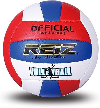 FancyswES8eety REIZ Profesional Pelota de Voleibol Suave de la PU ...