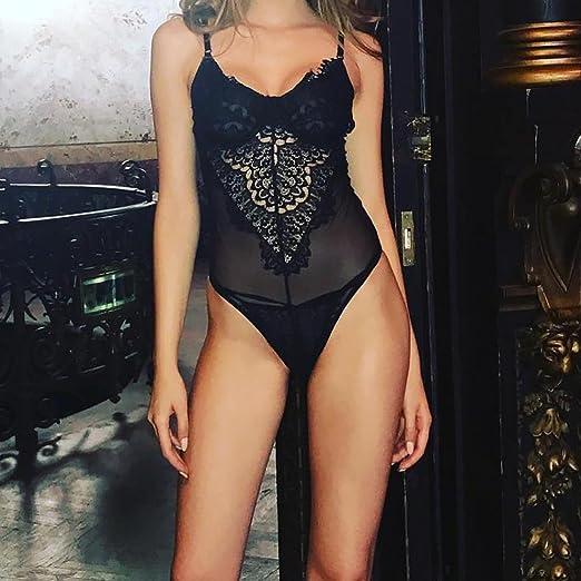 Amazon.com: Womens Lace Maid Uniforms Lingerie Bodysuit,Dainzuy Sexy Racy Corset Temptation Underwire (M, Black): Health & Personal Care