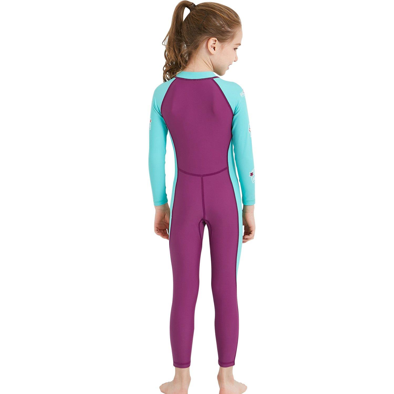 a37b20ba16 Gogokids Kids Long Sleeves Swimsuit Boys Girls One Piece Sunsuit Swimwear  SDW Trading Co LTD