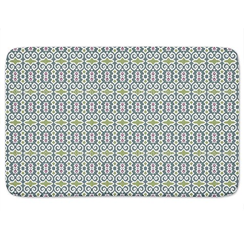 Shy Beauty Memory Foam Bath Mat: Large by uneekee