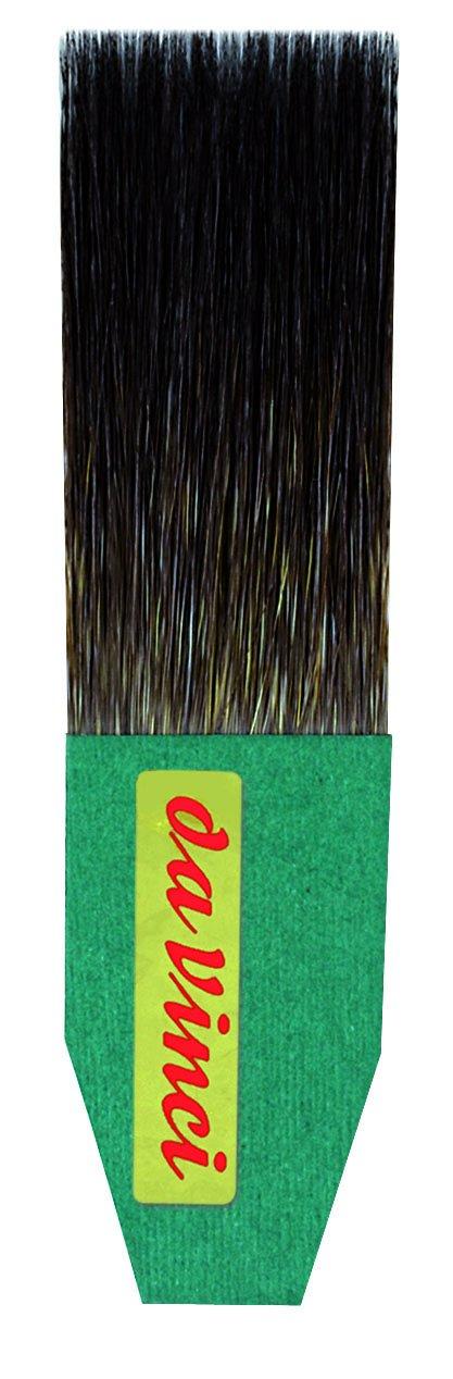 da Vinci Series 500 Gilder Tip Russian Blue Squirrel Hair Single Thickness Paintbrush, Size 25mm (500-25)