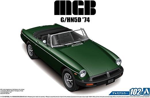 1980 Mazda 323 BD Familia XG 1:24 Model Kit Bausatz Aoshima 055892