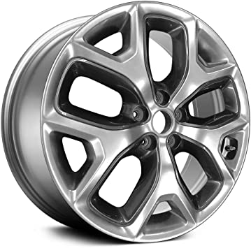 Partsynergy Replacement For OEM Take-Off Aluminum Alloy Wheel Rim 17 Inch Fits 2016-2017 Hyundai Sonata 5-114.3mm 5 Spokes