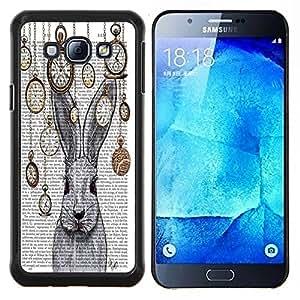 Dragon Case - FOR Samsung Galaxy A8 A8000 - ?use your own legs - Caja protectora de pl??stico duro de la cubierta Dise?¡Ào Slim Fit