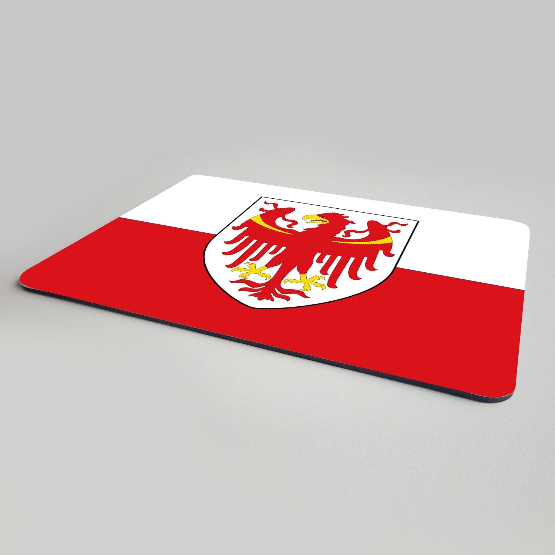 "Fahne Mousepad /""Südtirol/"" Landesflagge Bozen Alto Adige South-Tirol"