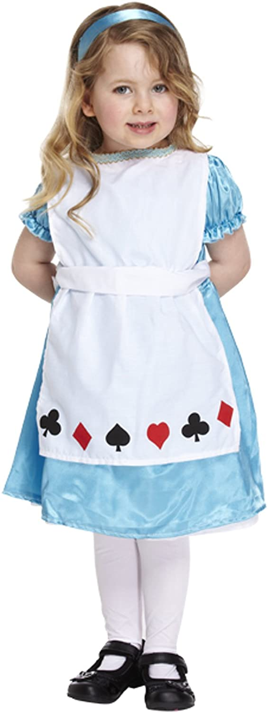Alice im Wunderland Mädchen Kleinkinder Fancy Party Kleid Kostüm 2–4 ...
