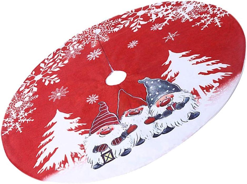 Amazon Com Funzzy Christmas Santa Tree Skirt Cartoon Tree Apron Tree Cover Tree Bottom Cover Xmas Party Decorations Home Kitchen Watch cartoons online both cartoons movies and cartoons series online for free. amazon com