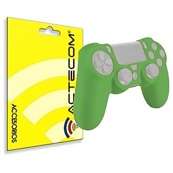 actecom® Funda Carcasa Silicona Verde Mando Sony PS4 Playstation 4: Amazon.es: Electrónica