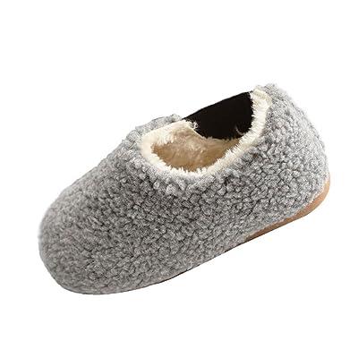 f02850e98730b Hzjundasi Mode Hiver Bébé Chaussures Enfants Garçon Fille Antidérapant  Chaud Première Marche Casual Chaussure 1-6 An