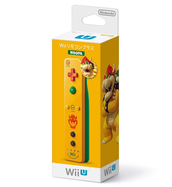 Nintendo Wii/Wii U Remote Plus Controller - Bowser (Japanese Version)