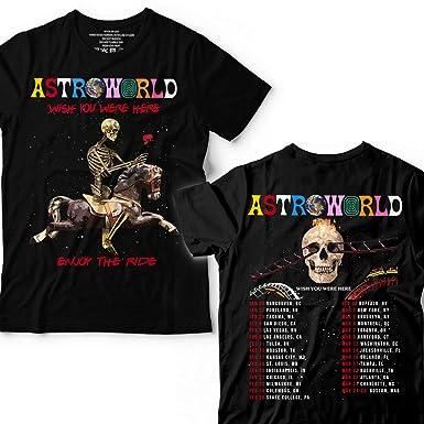 585cfec92ebf Amazon.com: Travis-Astroworld Shirts Music Gift Scott Wish You were Here T- Shirt: Clothing