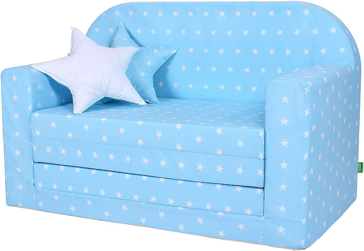Sofá infantil, sillón infantil, sofá cama, mobiliario infantil para dormir 1 Unidad 4200 g