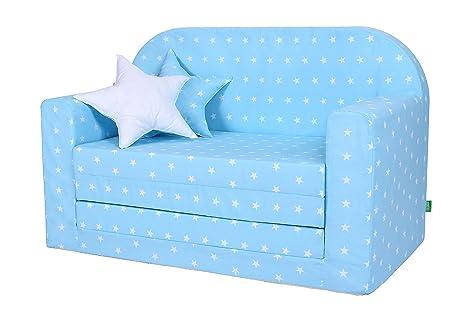 Letti Estraibili Bambini : Lulando divano letto estraibile per bambini certificato oeko tex