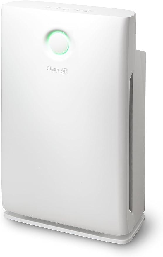 Purificador de aire inteligente con ionizador y filtros carbón y ...