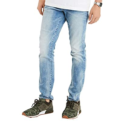 American Eagle Mens 4478841 Ne(X) t Level Slim Jean, Authentic Light (42x32) at Men's Clothing store