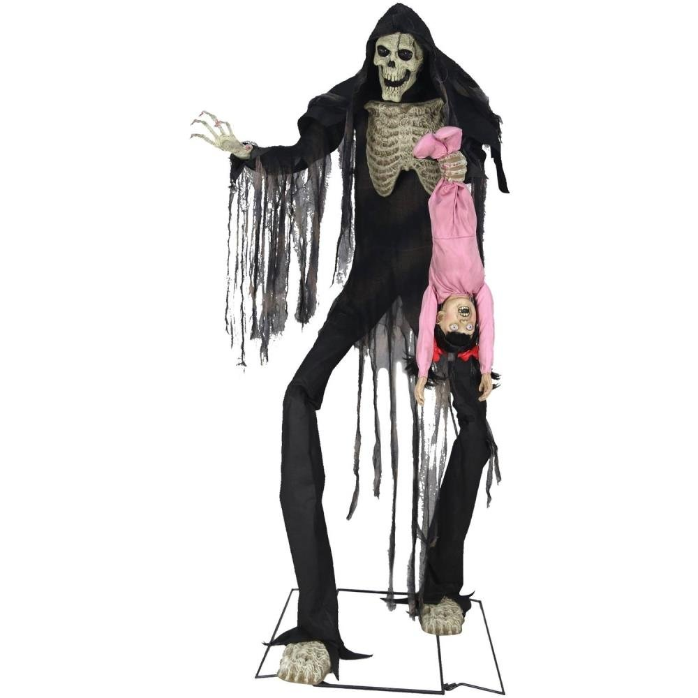Towering Boogey Man and Child Halloween Decoration by BLOSSOMZ